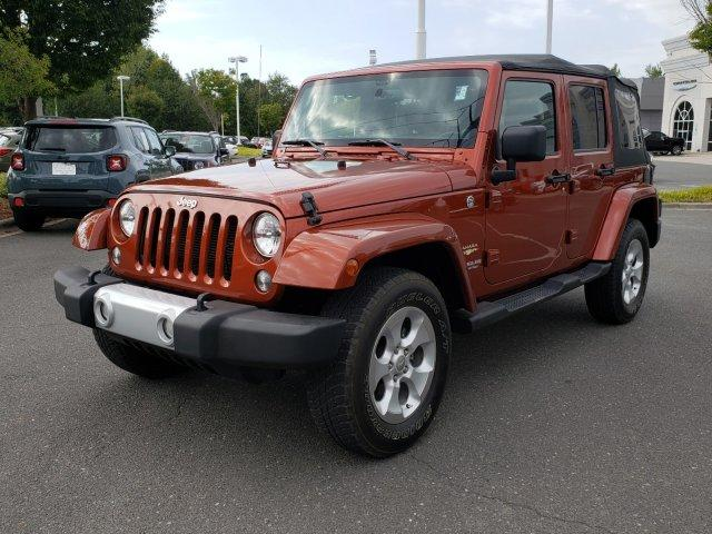 Pre-Owned 2014 Jeep Wrangler Unlimited 4WD 4dr Sahara