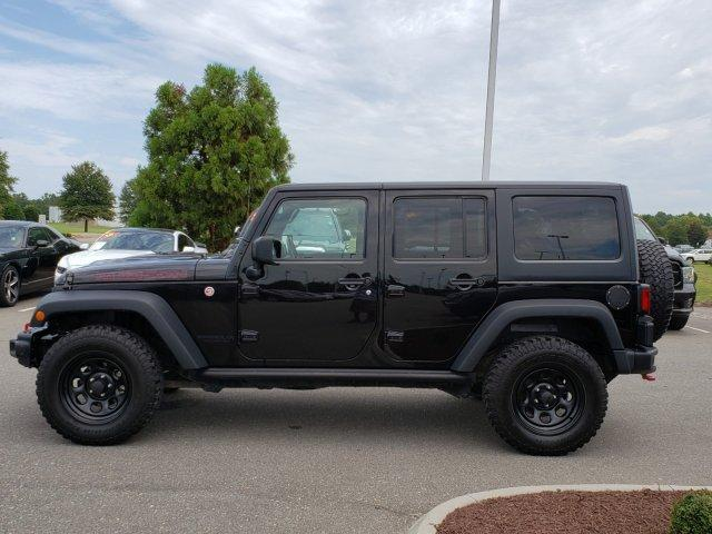 Pre-Owned 2016 Jeep Wrangler Unlimited 4WD 4dr Rubicon Hard Rock
