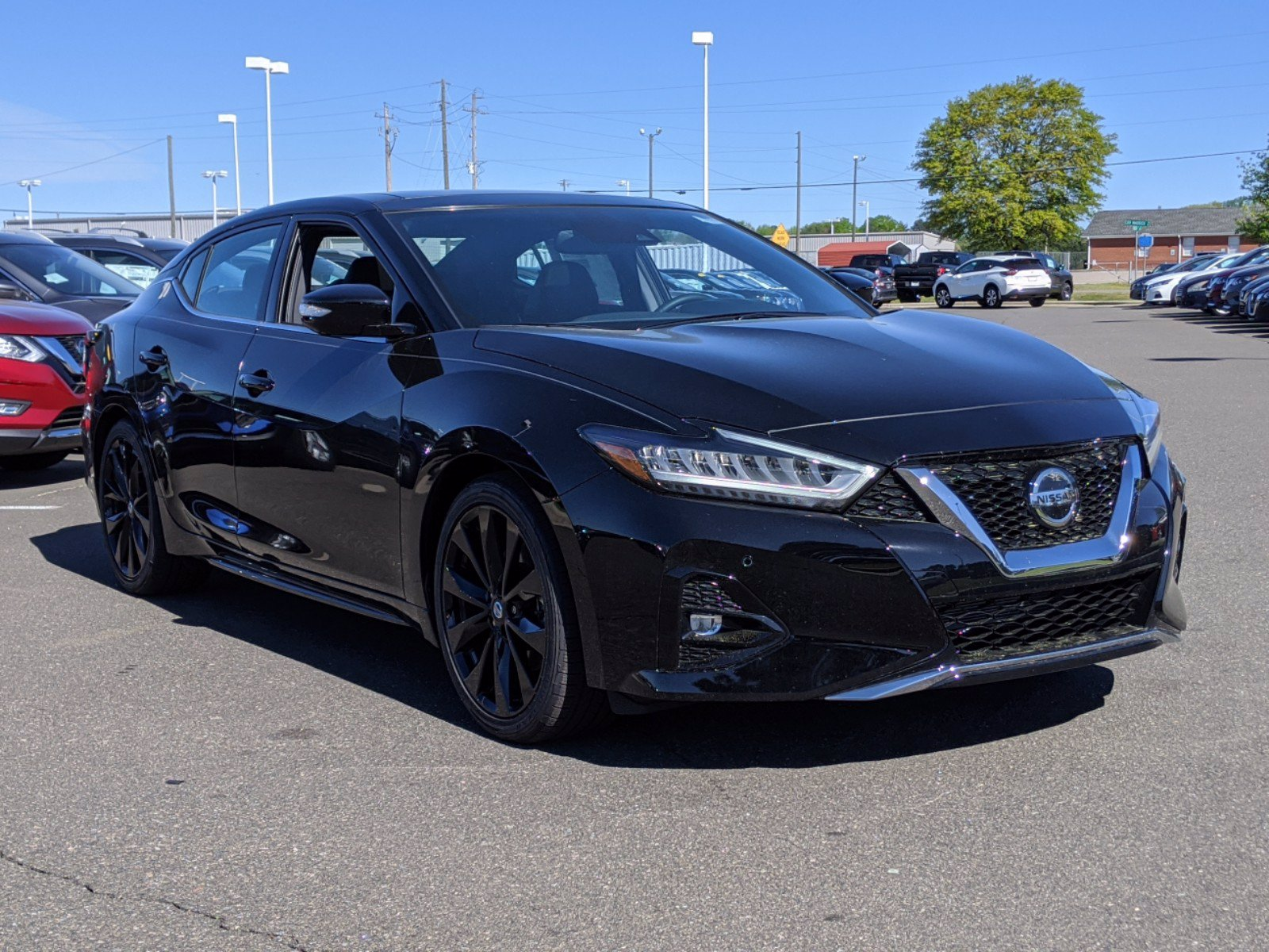 New 2020 Nissan Maxima SR With Navigation
