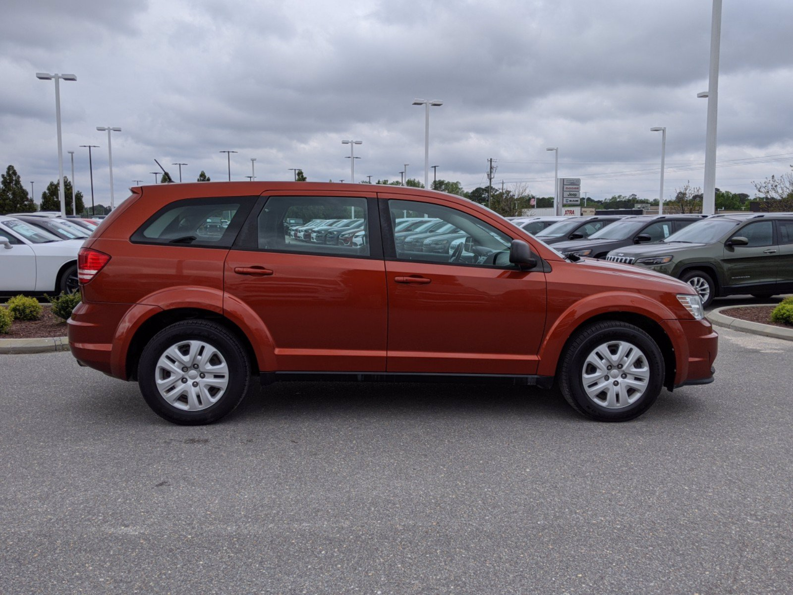 Pre-Owned 2013 Dodge Journey American Value Pkg FWD Station Wagon
